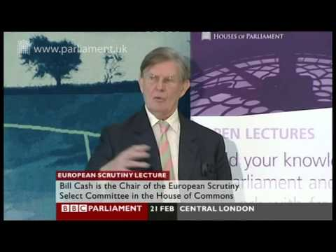 UK Parliament Open Lecture - Parliament's relationship with Europe