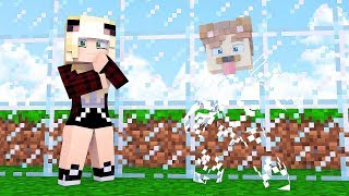 GLASS HIDE AND SEEK IN MINECRAFT!