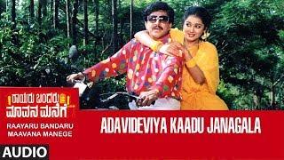 Adavi Deviya Kaadu Janagala Song   Rayaru Bandaru Mavana Manege Kannada Movie Songs   Vishnuvardhan