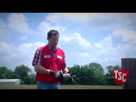 How to Set Up an Electric Fence - YouTube