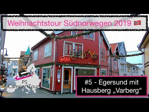 """Weihnachtstour 🎄 Südnorwegen 2019🇳🇴 #5 - Egersund mit Hausberg """"Varberg"""""""