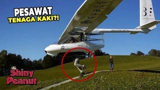 Jangan Sampe Kepleset! Pesawat Ini Lepas Landas Pake Kaki