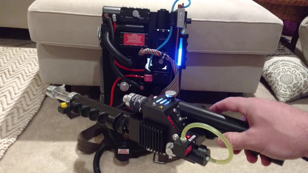 Ghostbusters Arduino Proton Pack Lights And Sounds Demo