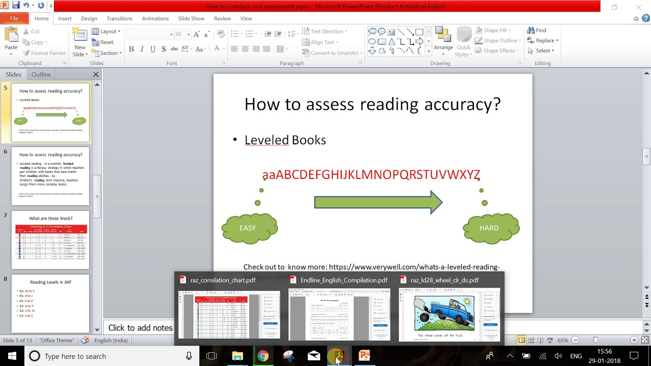 How To Conduct English Oral Assessment For Endline 2017 18 Youtube