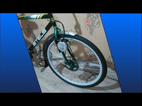 Электро-велосипед MY1016 мотор на переднее колесо