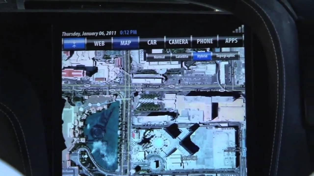 CES 2011: New Tesla Features 3-D Navigation, Road Sign ...