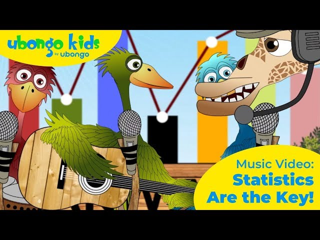 Statistics Are the Key! | Music Video | Ubongo Kids African Songs