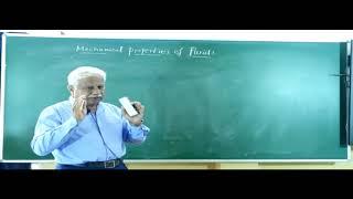 I PUC | PHYSICS | MECHANICAL PROPERTIES OF FLUIDS  - 02