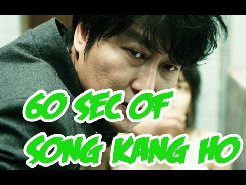 Why Song Kango Ho is Awesome in 60 Seconds!