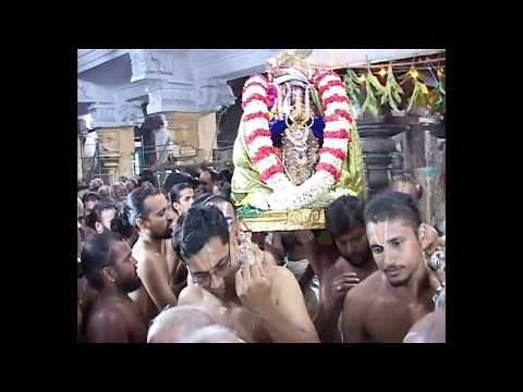 Sri Desikan Thirunakshatram Part 02_Mangalasasanam at Perarulalan Sannidhi_An Old Recording_39m 35s