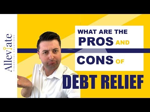 What are the Pros and Cons of Debt Relief and Debt Settlement (2021)