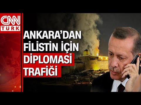 """Cumhurbaşkanı Erdoğan'dan Filistin görüşmeleri! """"İsrail saldırılarının muhatabı Müslümanlardır"""""""