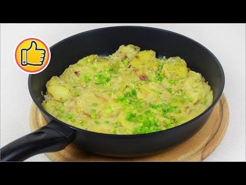 Как потушить картошку в молоке
