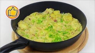 Быстрый Тушенный Картофель в Молоке | Stewed Potatoes in Milk