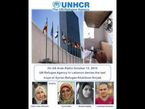 UN Refugee Agency in Lebanon Denies Khaldoon Sinjab October 13, 2015