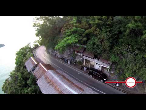 One of my first flights in Aceh, Indonesia (Narrow take off and landing space)