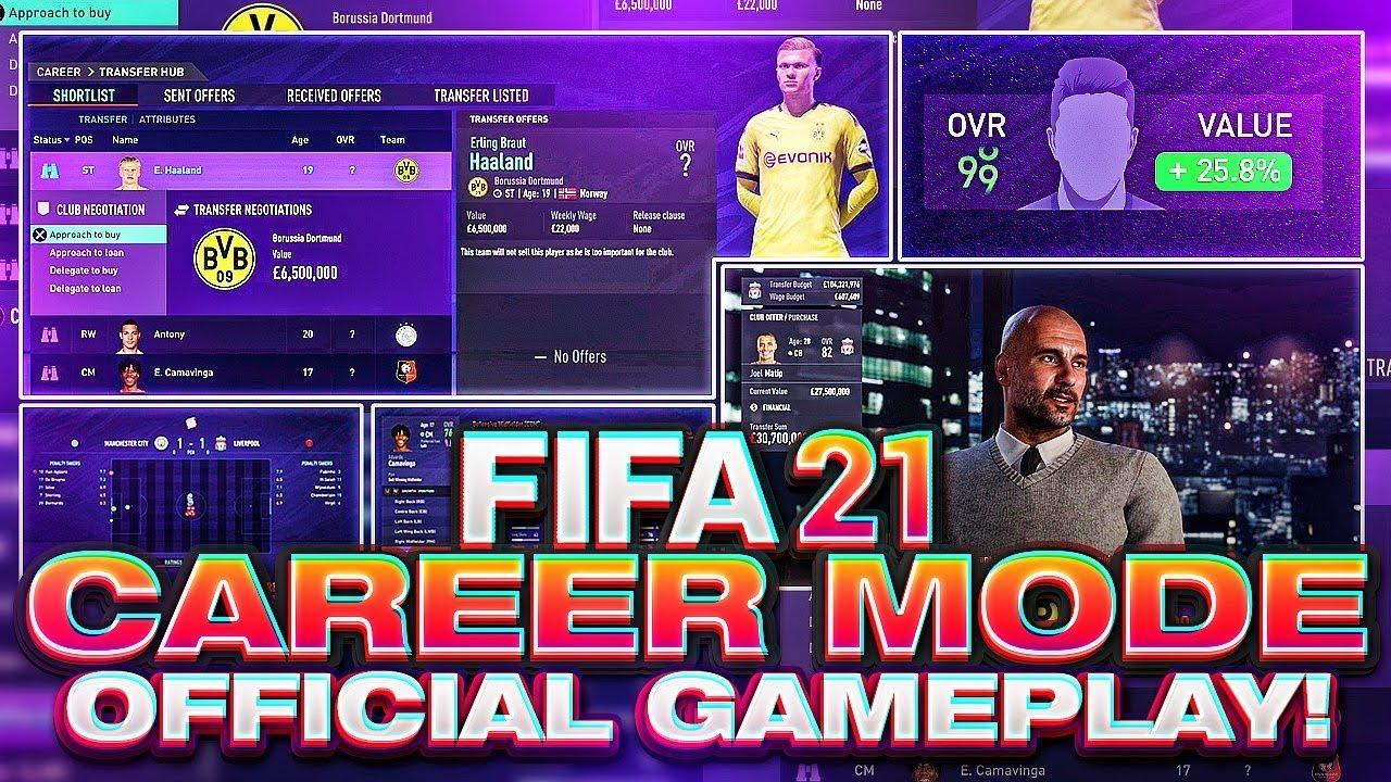 FIFA 21 Career Mode Official Gameplay! thumbnail