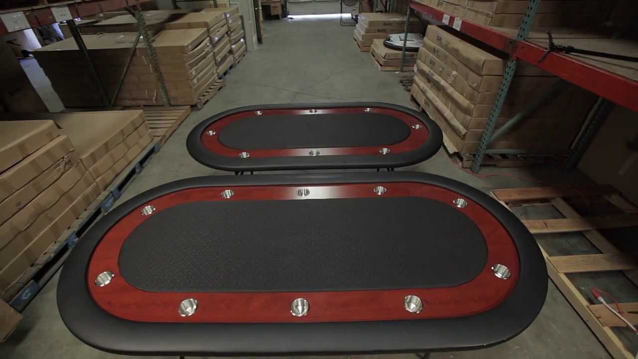 The Ultimate Poker Table By BBO Poker Tables   Product Demo