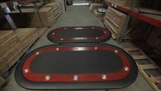 The Ultimate Poker Table By Bbo Poker Tables - Product Demo