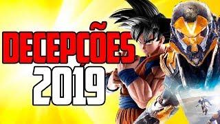 TOP 5 - JOGOS QUE DECEPCIONARAM EM 2019