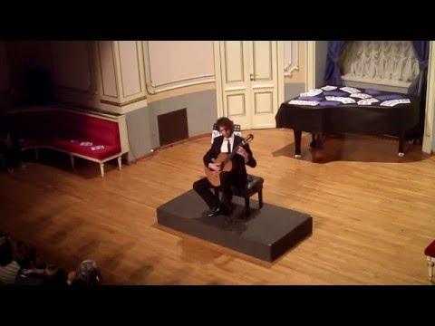 Petrit Ceku plays D. Aguado - Fandango Variado op.16 at Classical Guitar Days in Split