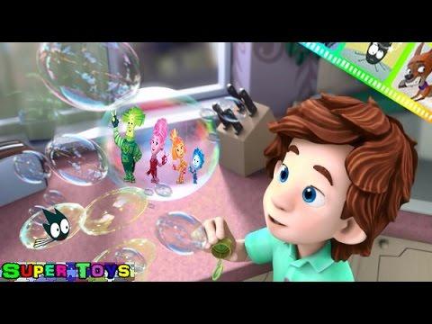 Фиксики Фиксиклуб развивающий мультфильм и игра: Мыльные Пузыри Премиум
