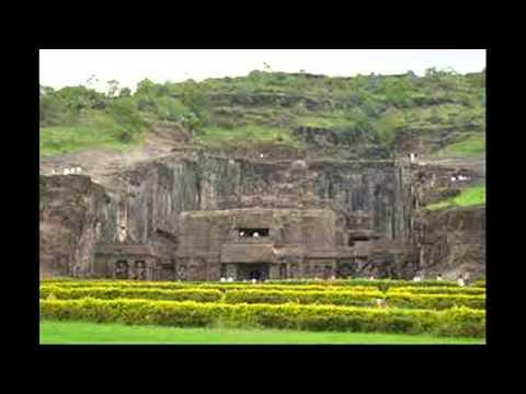 Most beautiful view - Kailasa Temple - India