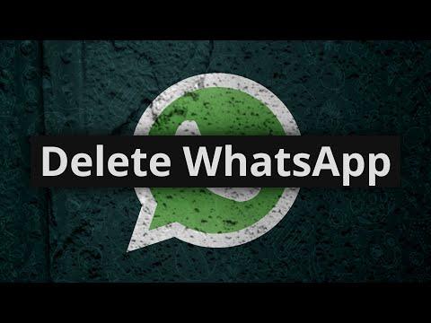 You should delete your WhatsApp ASAP