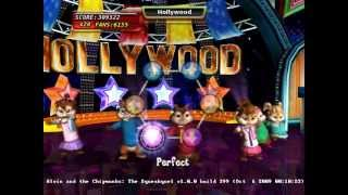 Alvin and the Chipmunks the Squeakquel Nintendo Wii walkthrough part 25/25 Ending + Credits