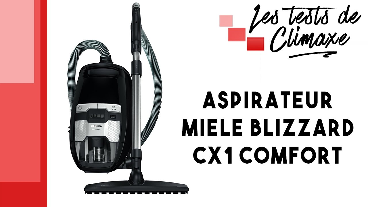 test d 39 un aspirateur sans sac miele blizzard cx1 comfort nouveaut 2016 2017 youtube. Black Bedroom Furniture Sets. Home Design Ideas