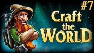 #7 Craft the World | Przygody Krasnoludów | Robimy pola uprawne i gdzie te k* szyszki!
