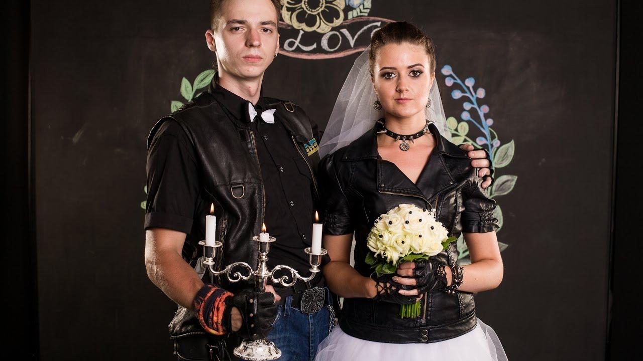 решил рок свадьба фото можно выполнить подсолнух