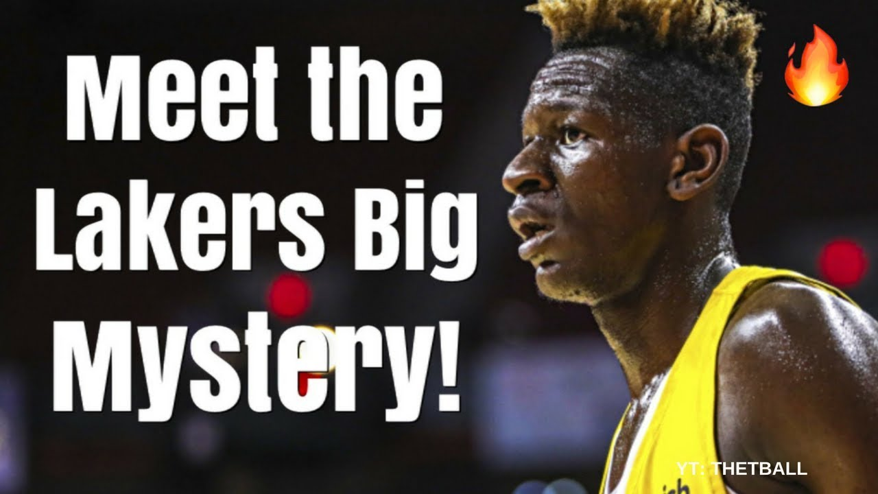 Meet the Los Angeles Lakers Biggest MYSTERY From the 2018 NBA Draft   Future Star Next to LeBron?