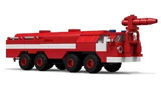 LEGO АА-60 (МАЗ 7310) Fire Engine Підручник