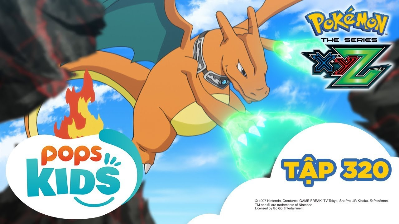 Pokémon Tập 320 – Băng Ánh Lửa tập kích! – Hoạt Hình Pokémon Tiếng Việt S19 XYZ