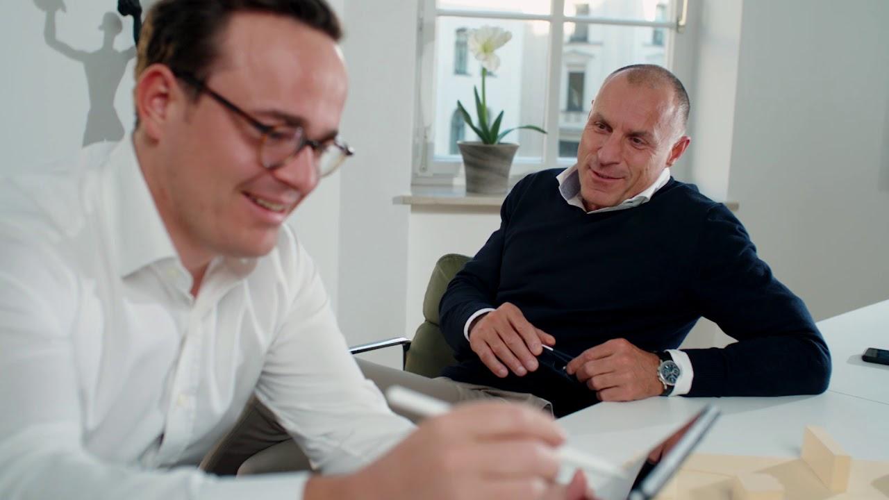 Download Einblicke in das P&P Real Estate GmbH Office in München.