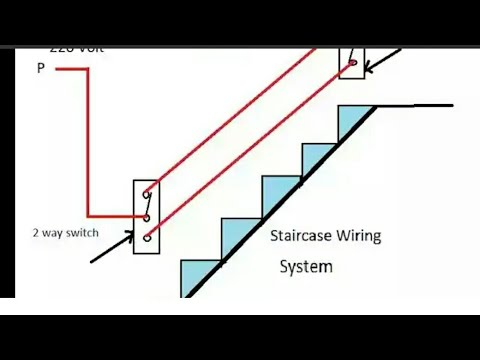 Staircase 2 Way Switch Wiring in Hindi YK Electrical - YouTube