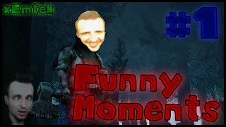 🔴 Funny Moments 🔴 xEmtek 🔴 #1 🔴 Dead by Daylight 🔴