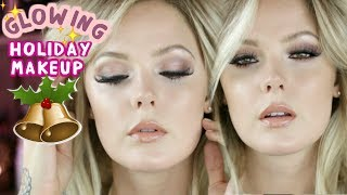 GLOWY GLAM MAKEUP FOR THE HOLIDAYS USING MY FAVORITE DEWY PRODUCTS