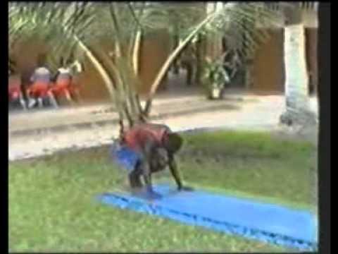 gymnastique au sol 3 éme garcon au sénégal