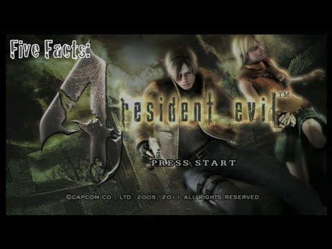 Five Facts - Resident Evil 4 | Rooster Teeth