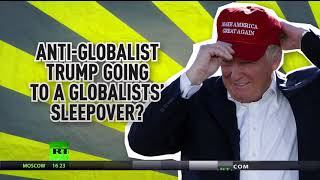 2018-01-13-16-13.Global-policy-of-Americanism-Trump-to-attend-Davos-despite-America-first-campaign