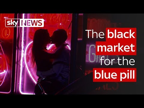 The black market for the blue pill