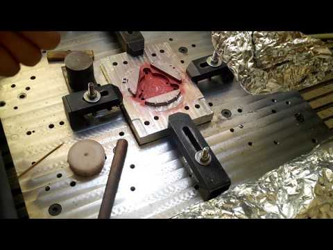 DIY an injection mold - fitting the insert pieces