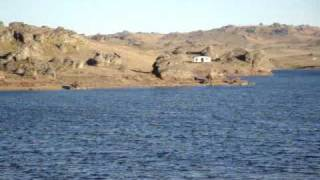Poolburn Reservoir, Lord of The Rings film site, Otago, New Zealand