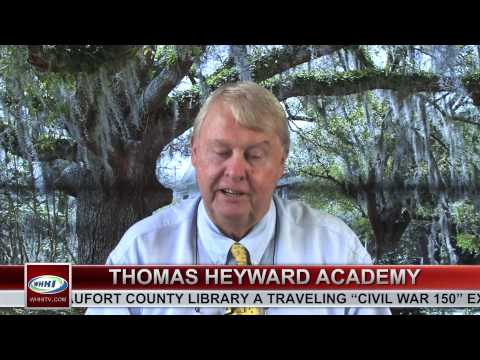 "WHHI-TV's ""The Bluffton News"" ~ John Rogers, Thomas Heyward Academy ~ September 17, 2012"
