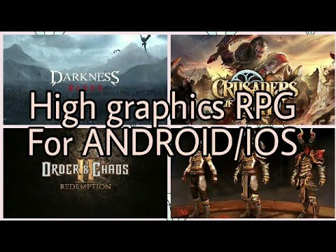 TOP5 :  HIGH GRAPHICS ROLE PLAYING GAMES FOR ANDROID/IOS