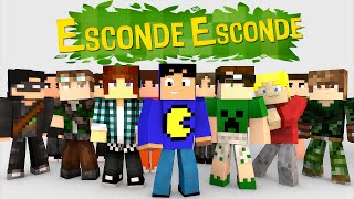 Minecraft: MINI-GAME DO ESCONDE-ESCONDE!