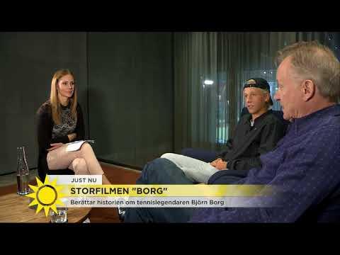 """Björn Borgs son om att spela sin pappa: """"Jag visste inte om saker som var med i filmen"""" -"""