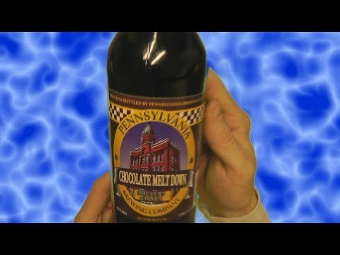 ASMR Beer Review 11: Penn Brewery Chocolate Meltdown, Toblerone & Solitaire [ binaural ]